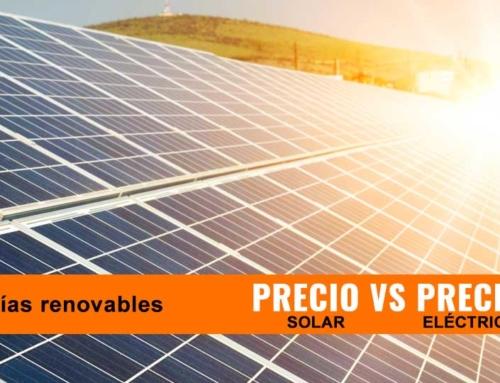 La energía solar se equipará con la red eléctrica en muy poco tiempo.
